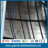 304 hojas de acero inoxidables del espejo del espesor 8k/16k/32k de 0.8m m