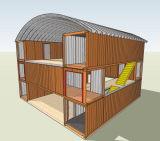 Модульная дом контейнера (австраец, Канада, стандарт CE)