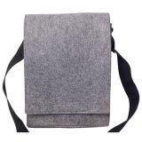 Sac d'emballage respectueux de l'environnement de feutre de gris pour des femmes