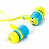in den Ohr-Karikatur-Kopfhörern für Handy mit schändlichem ich Entwurf