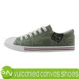 Zapatos de lona de goma de Outsole de los hombres Calzado De Lona (SNC-02001)