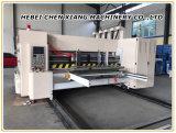Chenxiang 자동적인 홈을 파기 인쇄하는 14-22 4 색깔은 Flexo 절단기를 정지한다