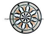 Округляющ медальон мраморный настила водоструйный (Mosaic-117)