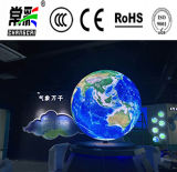 Experiencia de la mejora de visualización de la bola LED años video de la pantalla P4.8 de los 8
