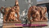 Marmorpferd mit Mann (MAM-001)