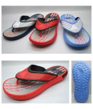Men's V-Straps plástico EVA PE borracha chinelo (21JS760)