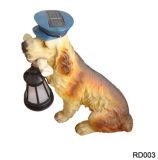 Солнечный светильник собаки (RD003)