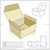 Коробка дна замка аварии косметическая клея машину (GK-650CB)