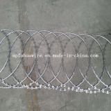 Гальванизированная колючая проволока бритвы (manufactory)
