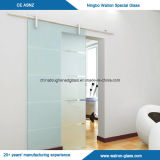 Puerta de vidrio de desplazamiento Tempered para el interior o el cuarto de baño/la ducha