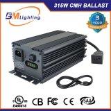 Lastre electrónico Growing hidropónico 0-10V de los sistemas 315W CMH Dimmable del surtidor de China