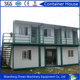 Rápidamente casa portable de la casa prefabricada del envase de la instalación del material de construcción de acero