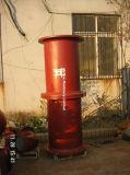 ISO2531/En545ductile Eisen flanschte Rohr