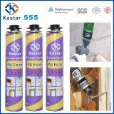 Espuma de poliuretano de pulverização Kastar555 da montagem