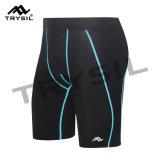 Pantaloni di scarsità stretti di ginnastica maschio di Short di sport degli uomini