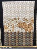 Azulejo de cerámica de la pared del cuarto de baño hexagonal del mosaico del material de construcción