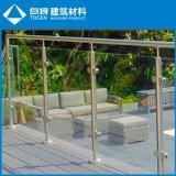 ガラスの調節可能なステンレス鋼の外部の塀のパネル
