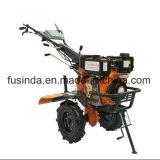 10HPディーゼル、農業機械186fのディーゼル機関力の耕うん機