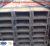 JIS G3101 стандартный u - форменный стальная штанга стального канала профиля