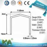 Fine grapas de alambre (P6C-8) para Roofing