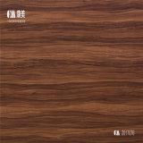 O papel decorativo da grão de madeira, papel da decoração, decorou o papel de impressão para o revestimento laminado