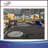 Tipo portal cortador da chapa de aço da flama do plasma da estaca Machine/CNC da placa de metal