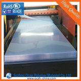 750 hoja natural del PVC del color 1220X2440m m del micrón para los rectángulos plegables