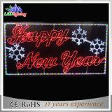 Luzes da letra do diodo emissor de luz do Feliz Natal do fornecedor da fábrica da iluminação de Obbo