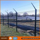 Rete fissa saldata il nero della rete metallica per il cortile