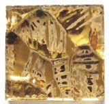 tuiles de mosaïque en verre du vrai or 24k