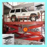 Lift van de Goederen van de Lading van het Voertuig van de Auto van de Lift van de Apparatuur van het Systeem van de Lift van de Auto van het Type van Schaar van het Parkeren van Mutrade Vloer aan Vloer de Verticale