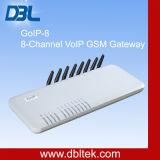 (GoIP 8) 8 SIMのカードが付いている8つのチャネルのVoIP GSMのゲートウェイGSMのゲートウェイ