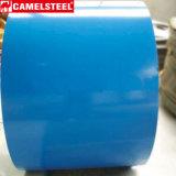 Fornecer todo o aço galvanizado Prapainted da bobina do cartão da cor de Ral