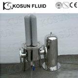 Edelstahl-Gas-und Flüssigkeit-Kassetten-Titanwasser-Filter