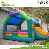 Kind-Innenspielplatz-Miniwasser-Trampoline-aufblasbares Schloss