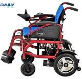 Облегченная средняя кресло-коляска электричества алюминиевого сплава размера с подвесом