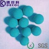 中国の鋼球の工場は直接24mmのゴムによって塗られた炭素鋼の球を供給した
