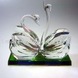 Estatuillas cristalinas del cisne (MX3021)
