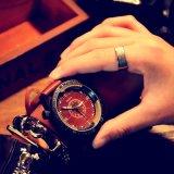 Reloj luminoso impermeable del diseño de la antigüedad del reloj de los hombres de la manera de H333 Yazole para los hombres