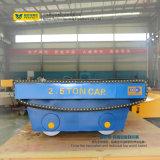 Reboque motorizado de transferência com na fresa de aço