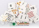 rompecabezas del número 3D/rompecabezas de papel del rompecabezas de la educación/de la matemáticas de los cabritos