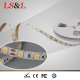 L'indicatore luminoso 60LEDs/M, 14.4W, 5m/Roll di 5050 Ledstrip impermeabilizza gli indicatori luminosi di striscia
