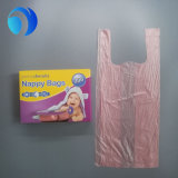 新しい赤ん坊のにおいのプラスチックおむつ袋袋