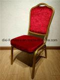 ذهبيّة إطار فندق مأدبة كرسي تثبيت ألومنيوم بالجملة/حديد مطعم كرسي تثبيت