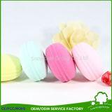 A fundação compo a escova líquida da esponja das escovas cosméticas da composição
