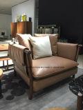 Leistungsfähiges modernes Wohnzimmer-Leder-Sofa