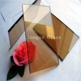 染まる装飾か建物のためにガラス10mmの金青銅