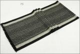 人のレディース男女兼用の可逆カシミヤ織の感じの冬の暖かい厚く編まれた編まれたスカーフ(SP822)