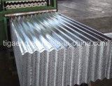 Precio de fábrica acanalado/trapezoidal galvanizado/azulejo de material para techos de acero del Galvalume para Sierra Leona