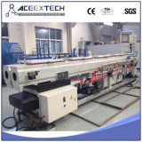 Ligne de machine d'extrusion de double pipe de PVC